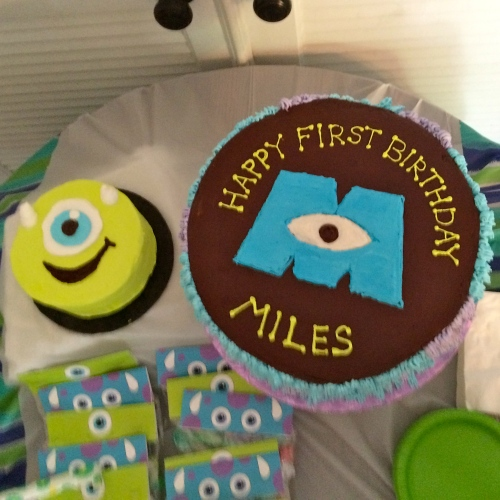 Monsters Inc Cakes